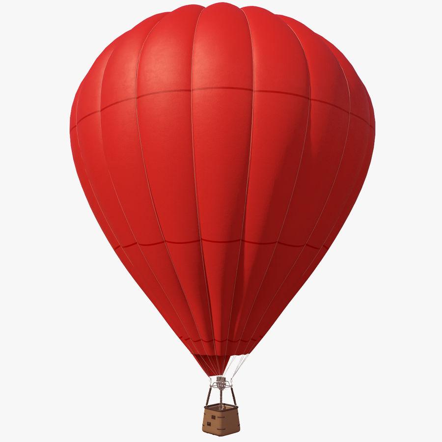 Luchtballon Coca-Cola royalty-free 3d model - Preview no. 12
