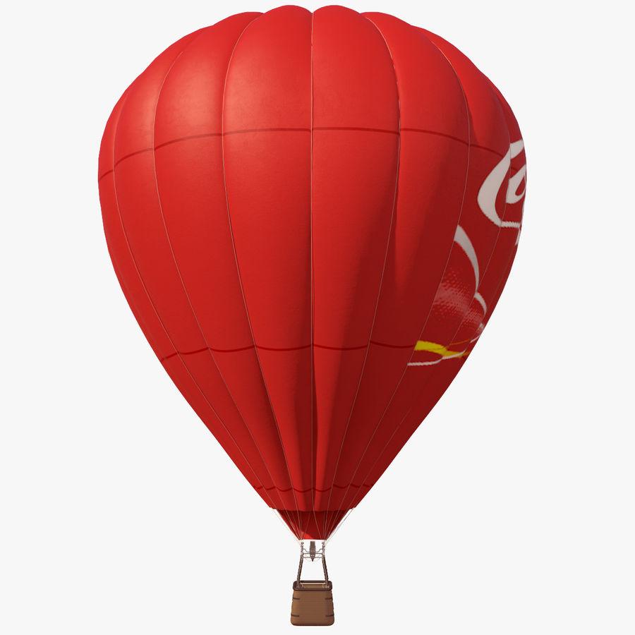 Luchtballon Coca-Cola royalty-free 3d model - Preview no. 10