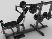 Multi Gym modelo 3d