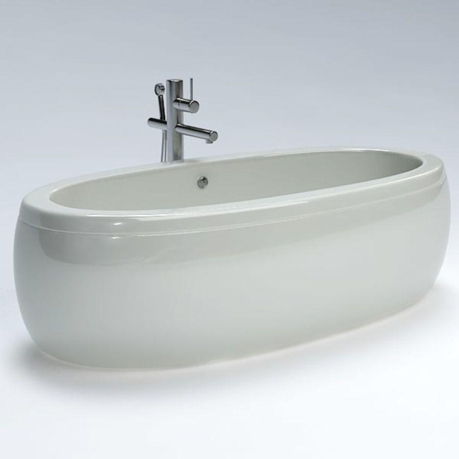 Bath royalty-free 3d model - Preview no. 2