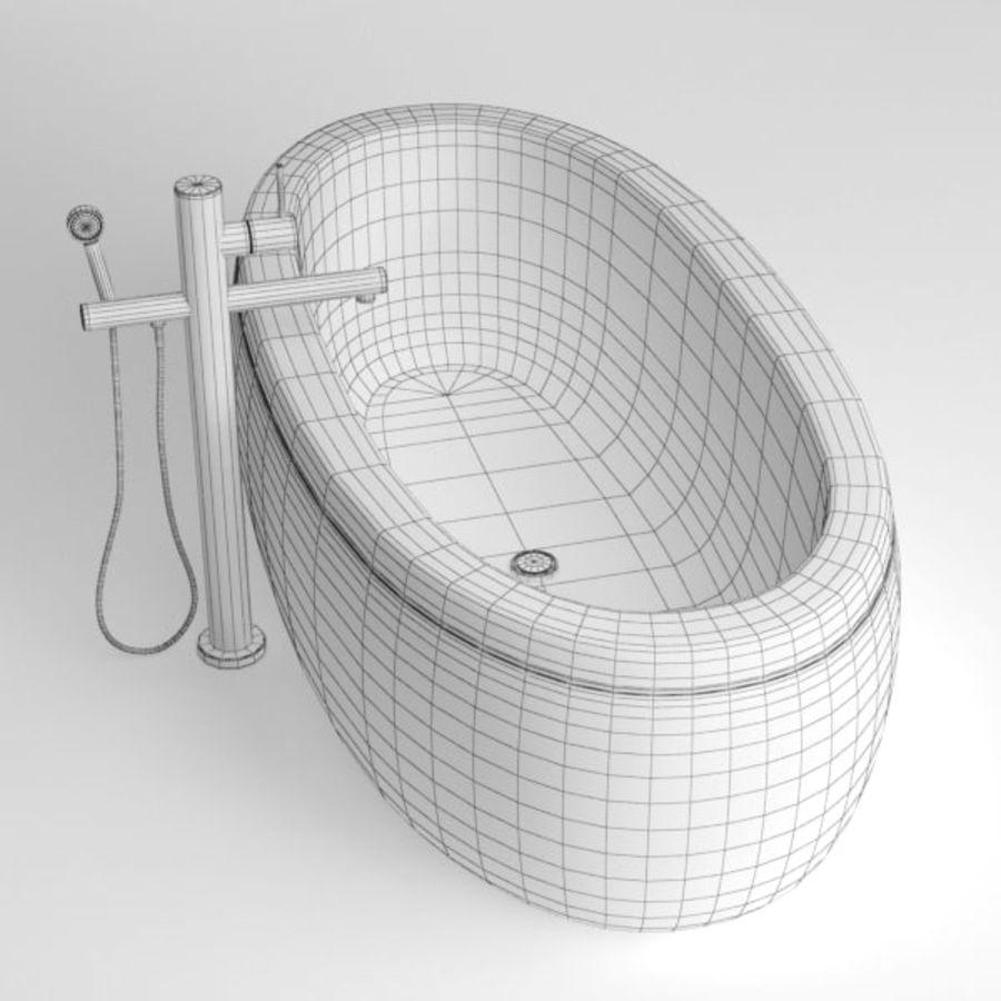 Bath royalty-free 3d model - Preview no. 10