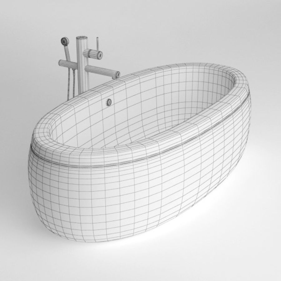 Bath royalty-free 3d model - Preview no. 8