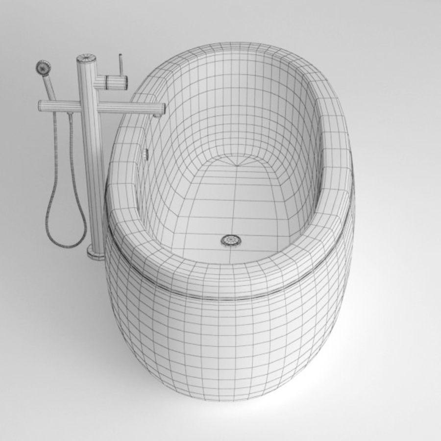 Bath royalty-free 3d model - Preview no. 9