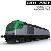 기관차 3d model