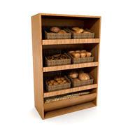 パン棚3 Dモデル 3d model