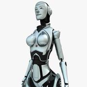 Android kobieta 3d model