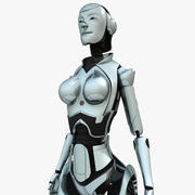 Android Woman 3d model