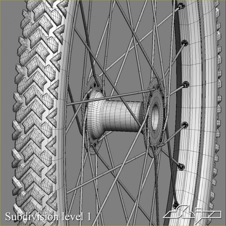 Bike Wheel royalty-free 3d model - Preview no. 8