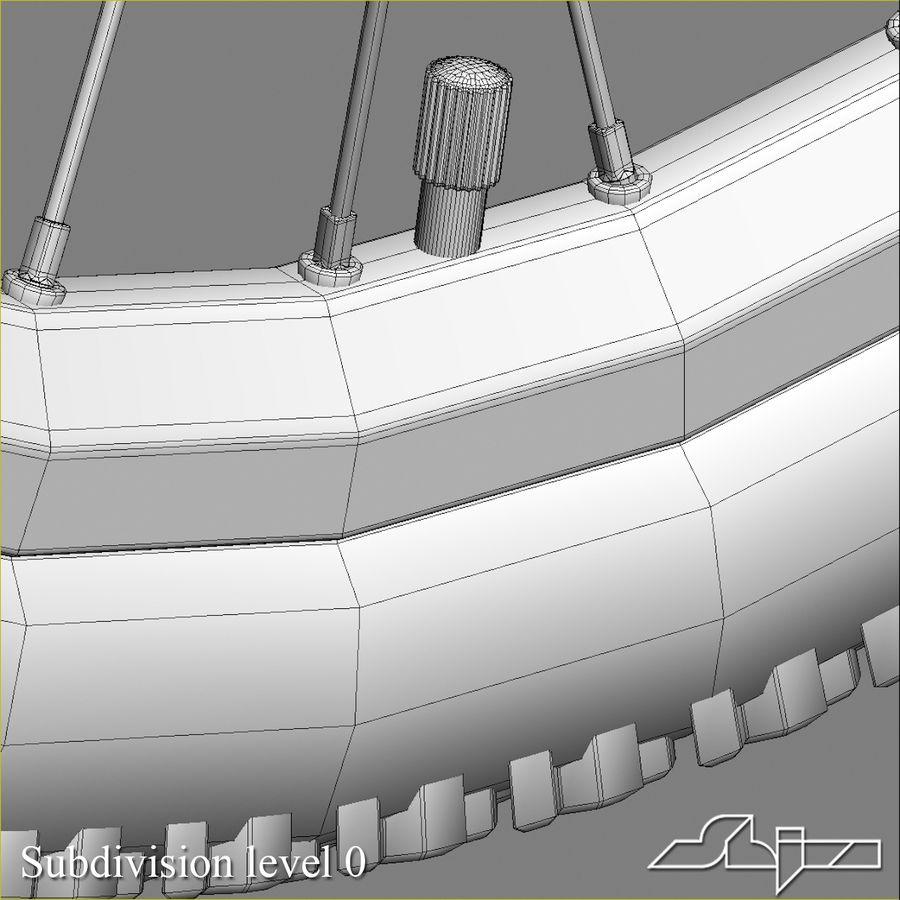Bike Wheel royalty-free 3d model - Preview no. 9