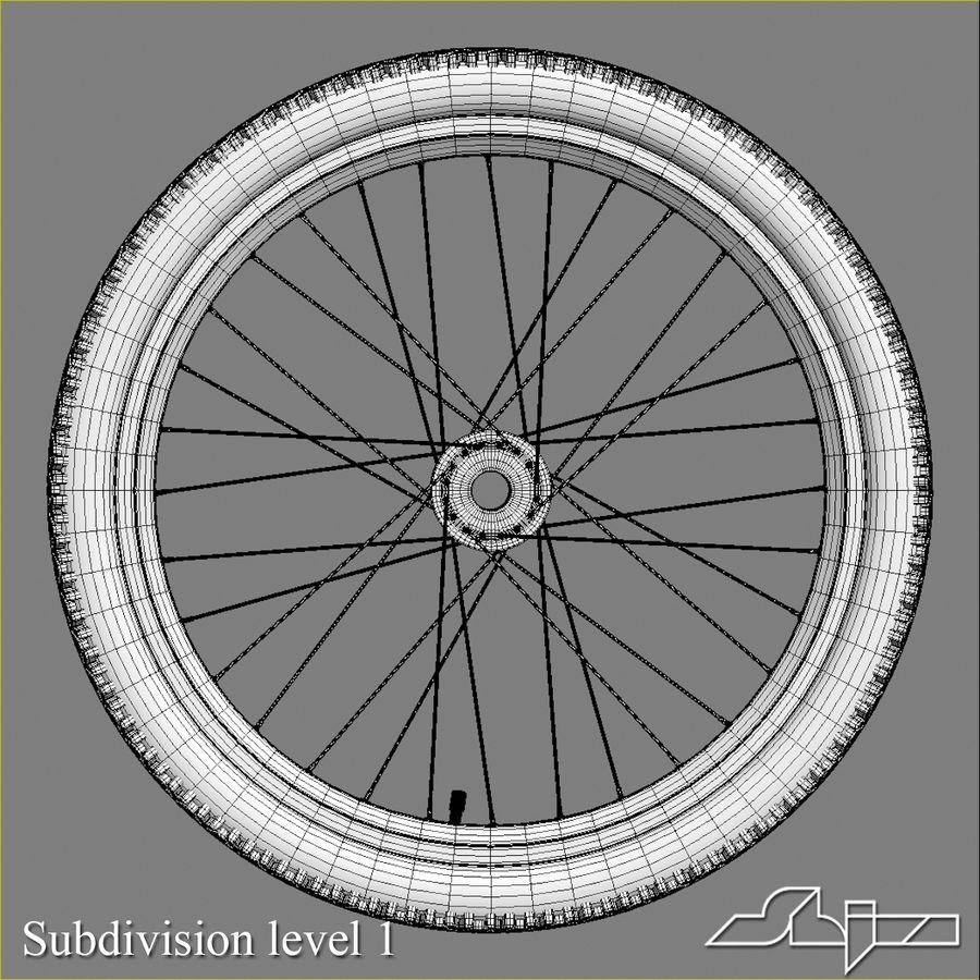 Bike Wheel royalty-free 3d model - Preview no. 6