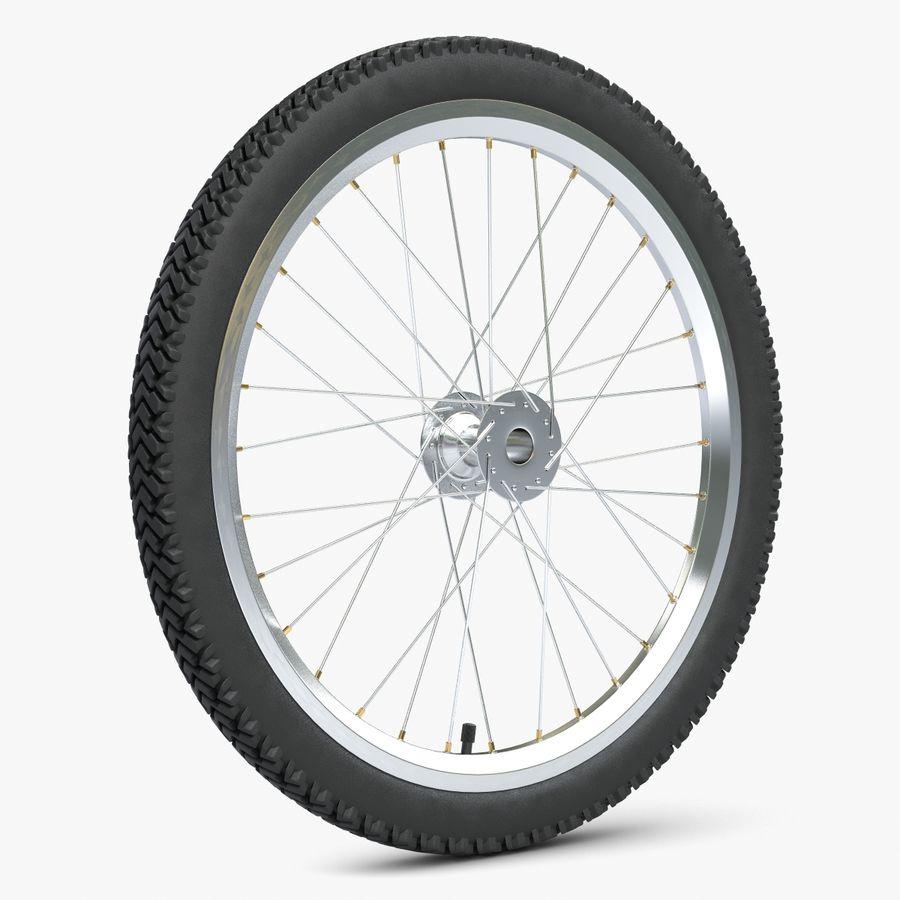 Bike Wheel royalty-free 3d model - Preview no. 1