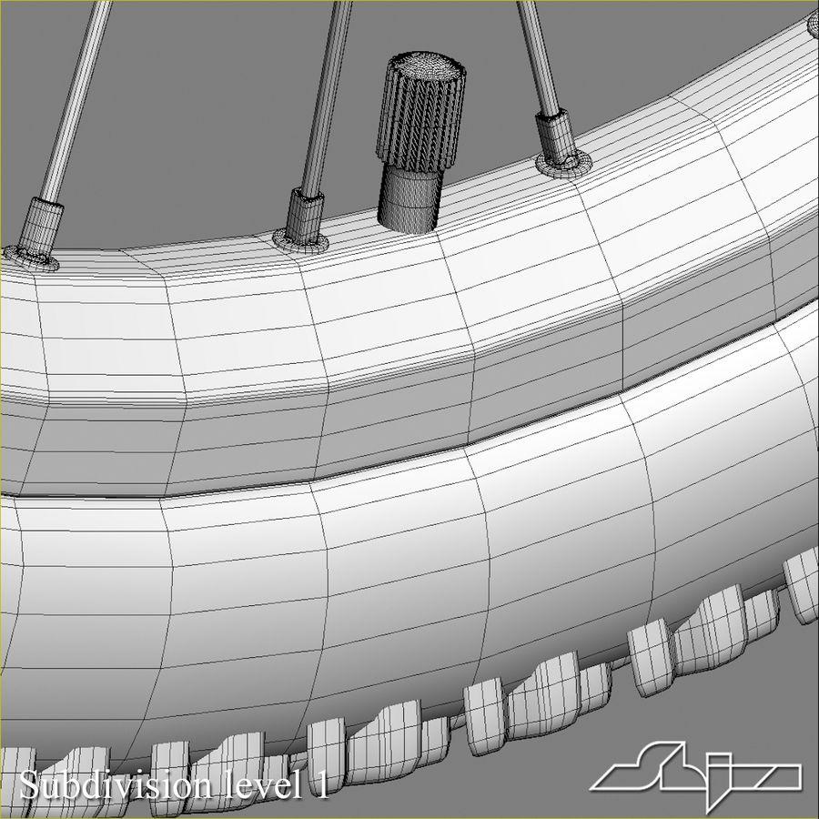Bike Wheel royalty-free 3d model - Preview no. 10