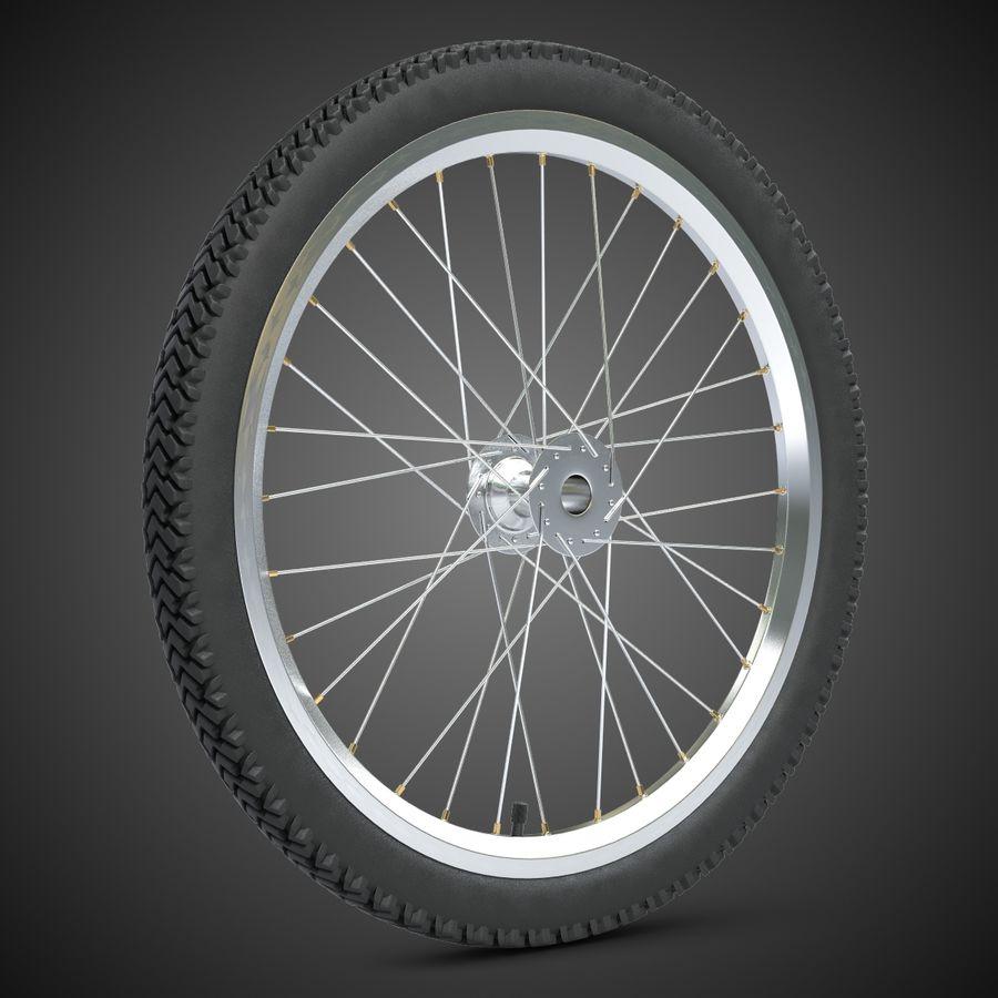Bike Wheel royalty-free 3d model - Preview no. 2