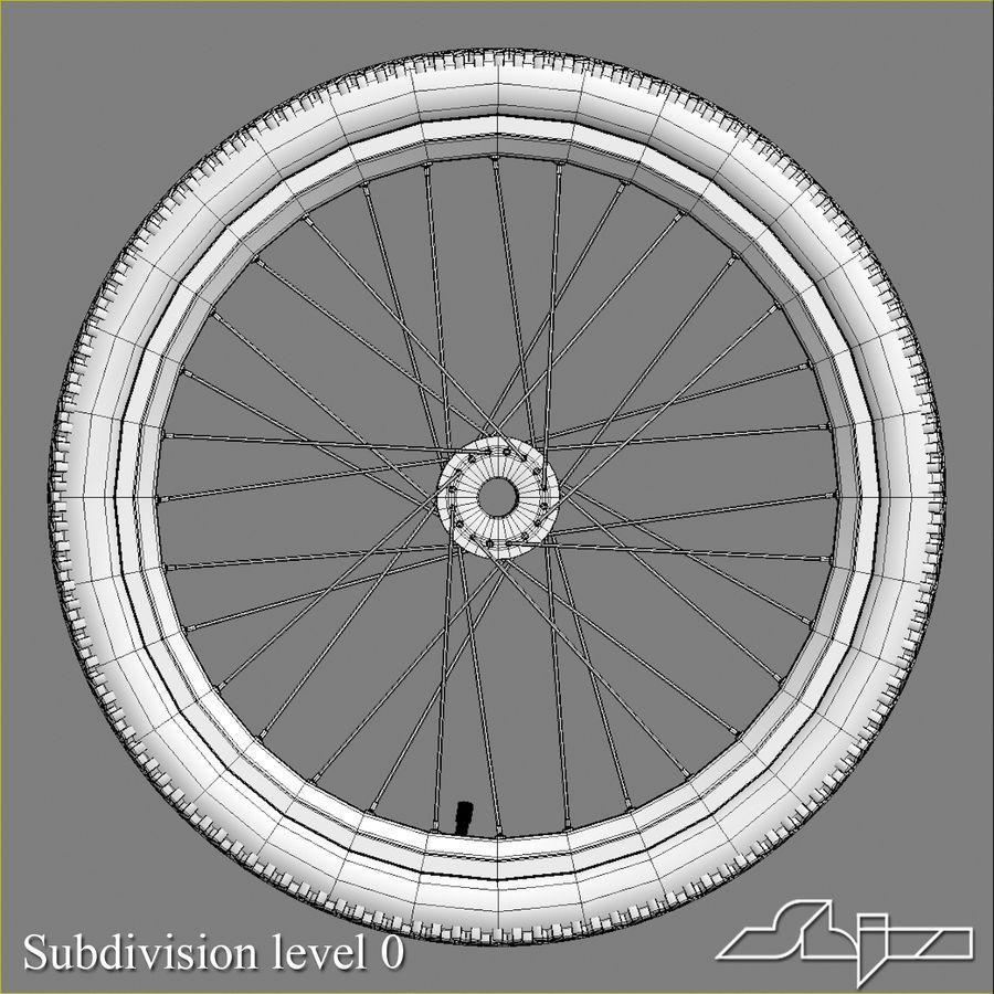 Bike Wheel royalty-free 3d model - Preview no. 5