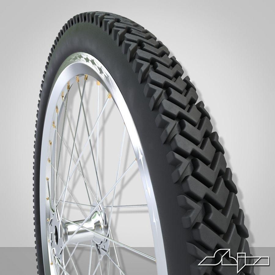 Bike Wheel royalty-free 3d model - Preview no. 4