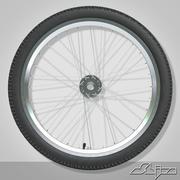 Koło rowerowe 3d model