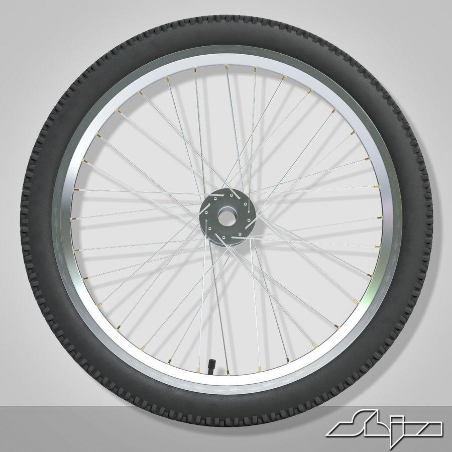 Bike Wheel royalty-free 3d model - Preview no. 3