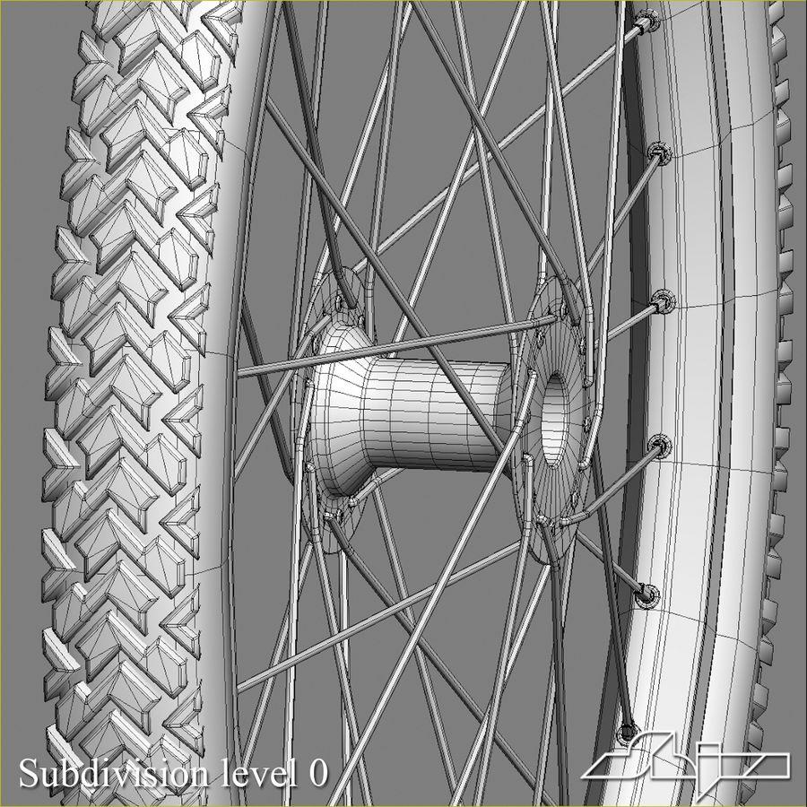 Bike Wheel royalty-free 3d model - Preview no. 7