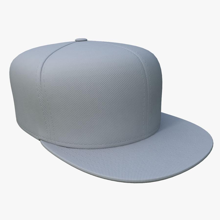 Baseball Cap royalty-free 3d model - Preview no. 5