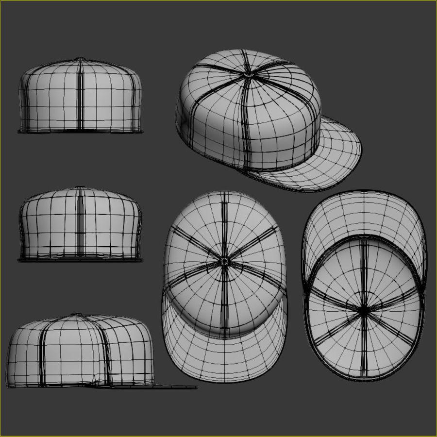 Baseball Cap royalty-free 3d model - Preview no. 10