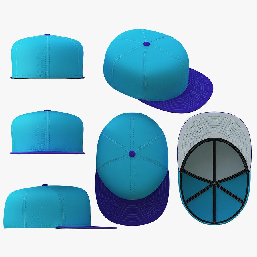 Baseball Cap royalty-free 3d model - Preview no. 9
