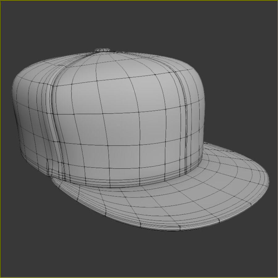 Baseball Cap royalty-free 3d model - Preview no. 6