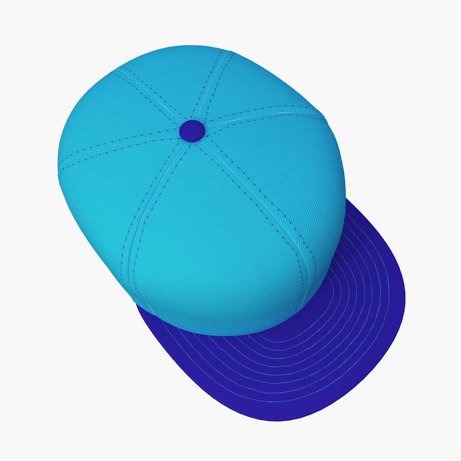 Boné de baseball royalty-free 3d model - Preview no. 1