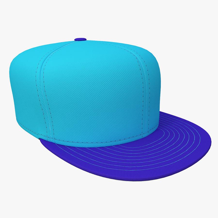 Baseball Cap royalty-free 3d model - Preview no. 4
