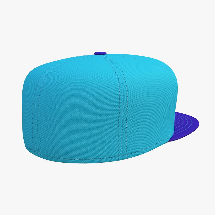Baseball Cap royalty-free 3d model - Preview no. 8