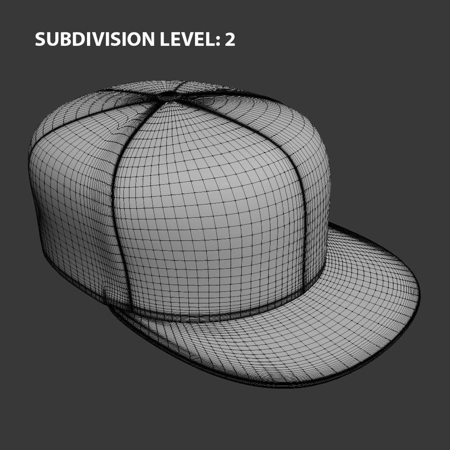 Baseball Cap royalty-free 3d model - Preview no. 13