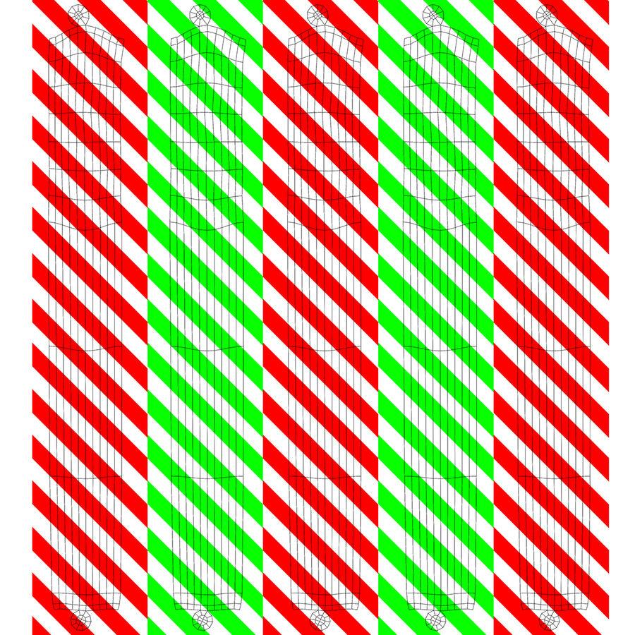 Santa Sleigh royalty-free 3d model - Preview no. 23