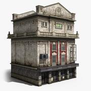 4-Storey House 01 3d model