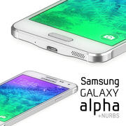 Samsung Galaxy Alpha 3d model