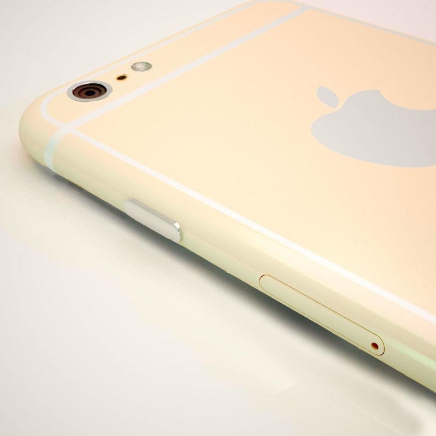 Айфон 6 royalty-free 3d model - Preview no. 3