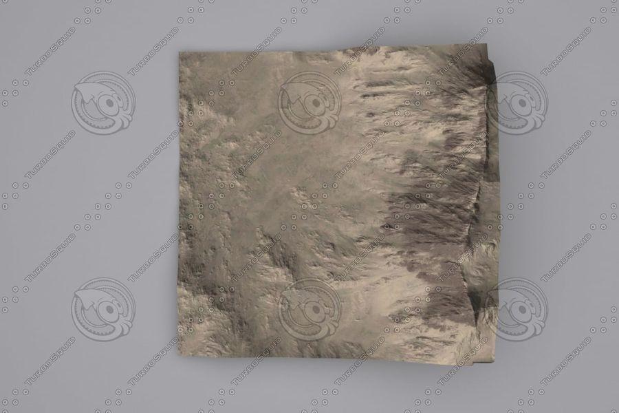 Montanhas afegãs royalty-free 3d model - Preview no. 4