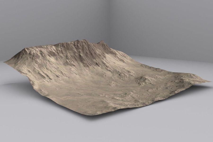 Montanhas afegãs royalty-free 3d model - Preview no. 2