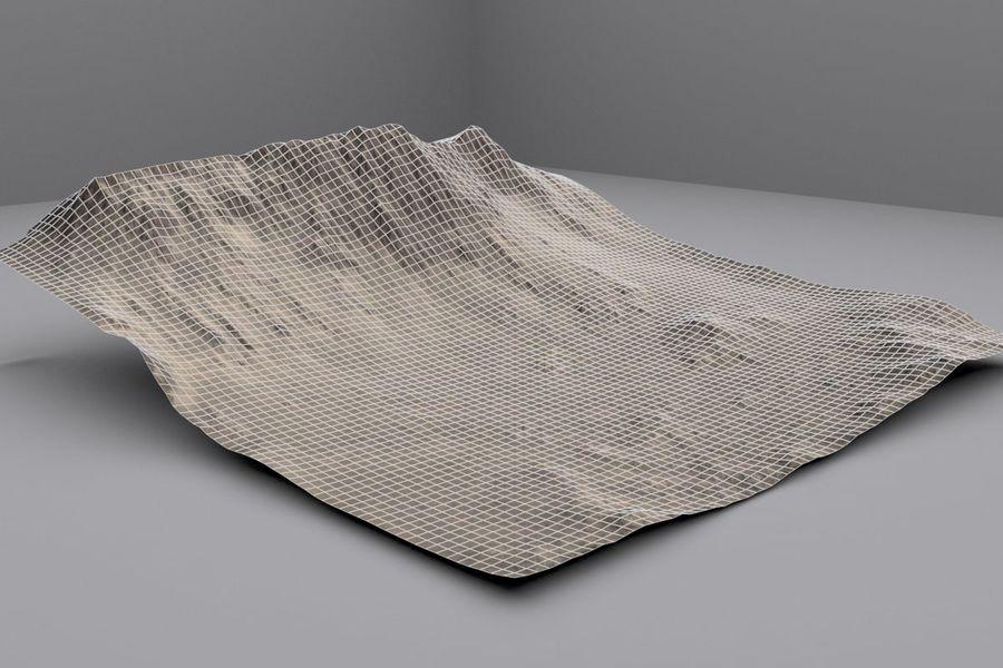 Montanhas afegãs royalty-free 3d model - Preview no. 5