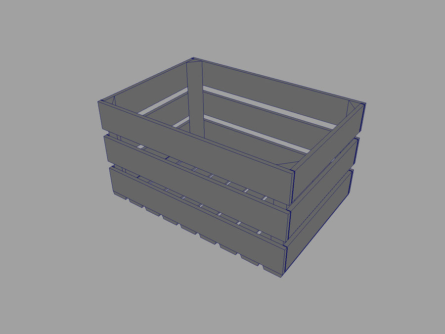 Fruit Crate royalty-free 3d model - Preview no. 5