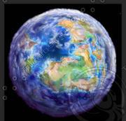 Planet cartoon 3d model