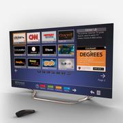 电视机55英寸 3d model
