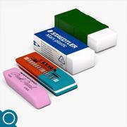 Erasers 3d model