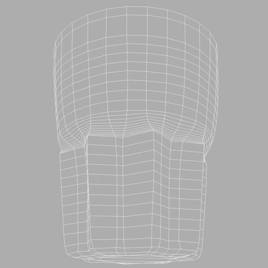Bardak İçki 6 royalty-free 3d model - Preview no. 3