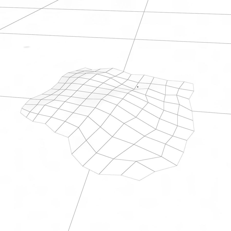 Debris Rubble Ruin royalty-free 3d model - Preview no. 5