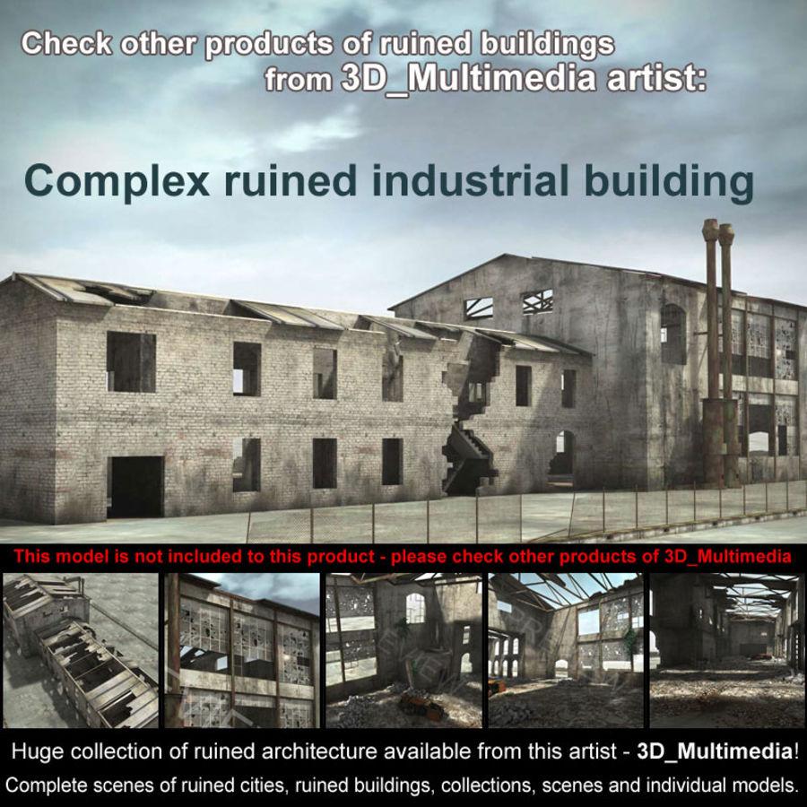 Debris Rubble Ruin royalty-free 3d model - Preview no. 6