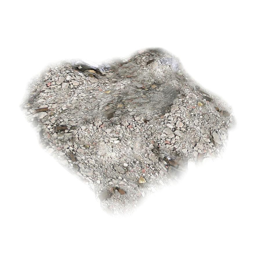 Debris Rubble Ruin royalty-free 3d model - Preview no. 1