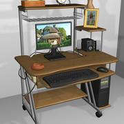 Tavolo per computer 3d model