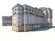 Parijs gebouw 3d model