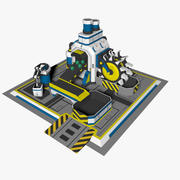 Transportador de minas 3d model