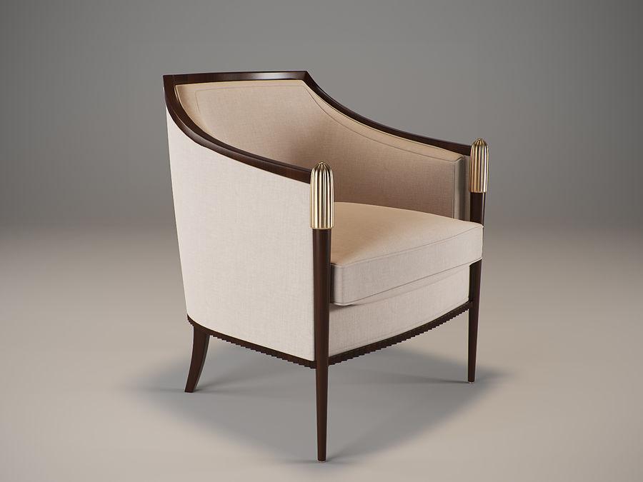Baker Deco Classic Lounge Chair 3d Model 12 Fbx Obj Max Free3d