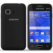 Samsung Galaxy Young 2 Black 3d model
